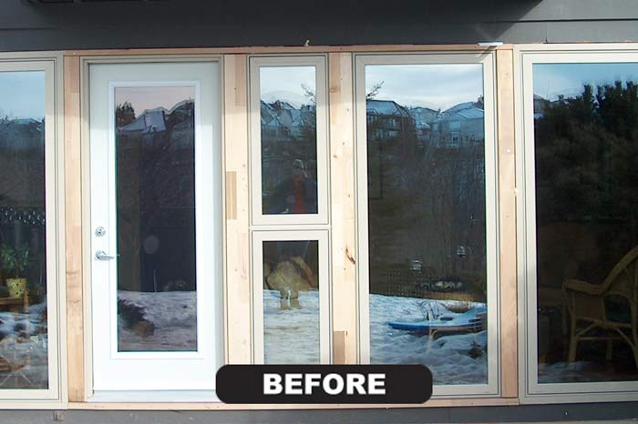 Calgary Exterior Doors Capping Cladding Custom Cladding Ltd